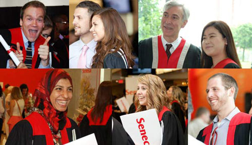 Seneca Convocation collage