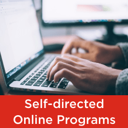 Seneca College Faculty of Continuing Education list of self-directed online part-time programs