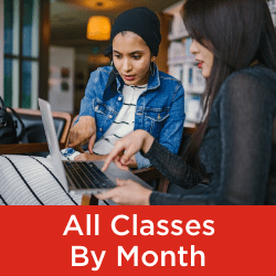 Classes by Month