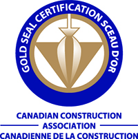 The Canadian Construction Association-Gold Seal Certification Logo