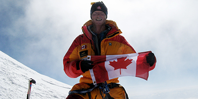 Seneca climber on track to complete the Seven Summits