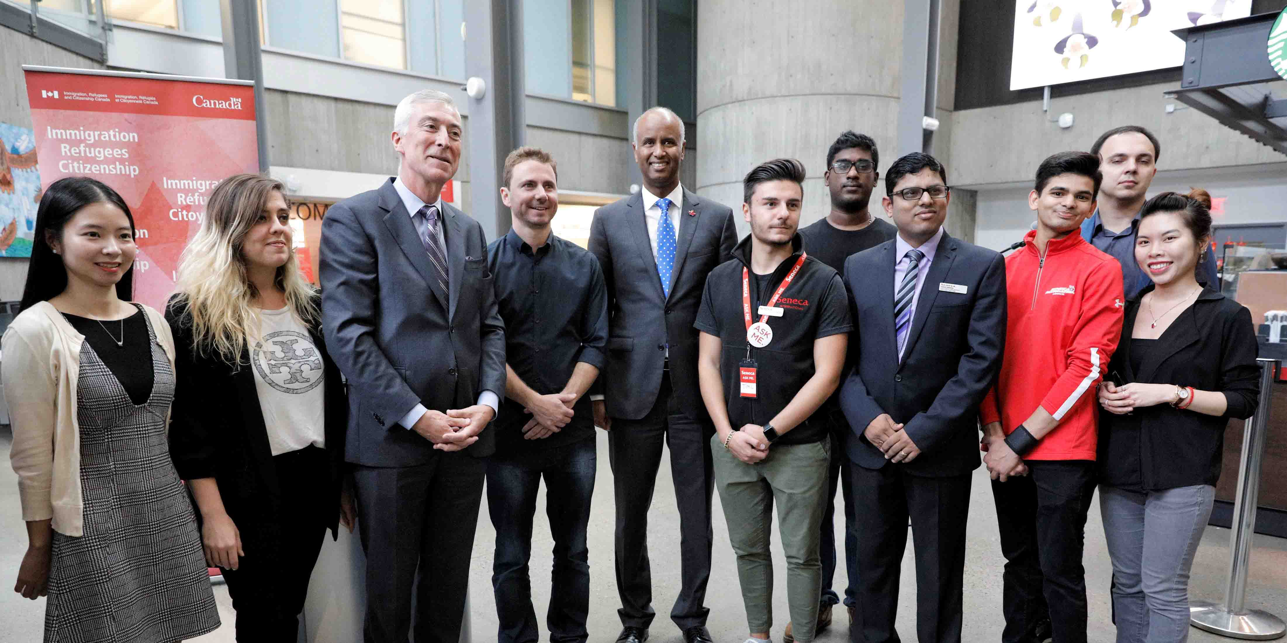 Minister Hussen celebrates Citizenship Week