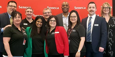 Seneca nabs four national awards