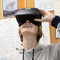 King Campus gets a dose of virtual reality