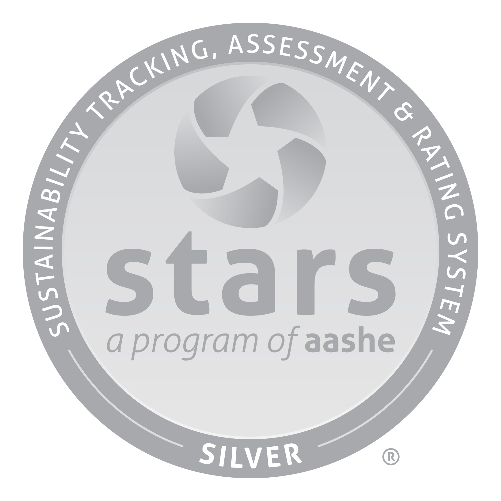 stars: a program of aashe. Sustainability tracking, assessment & rating system silver
