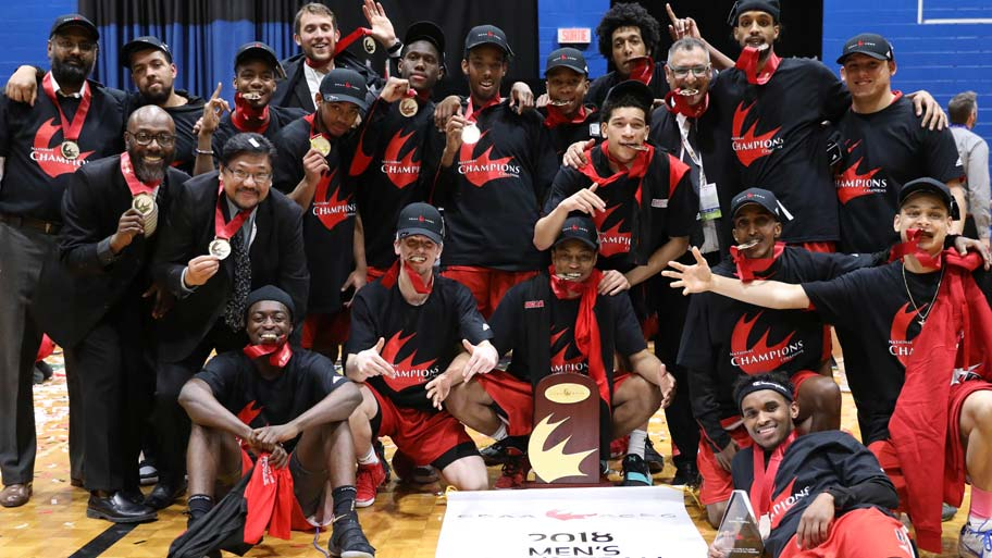 834a2a01602676 Basketball champs named Team of the Year. Men s team recognized by Toronto  Sport ...