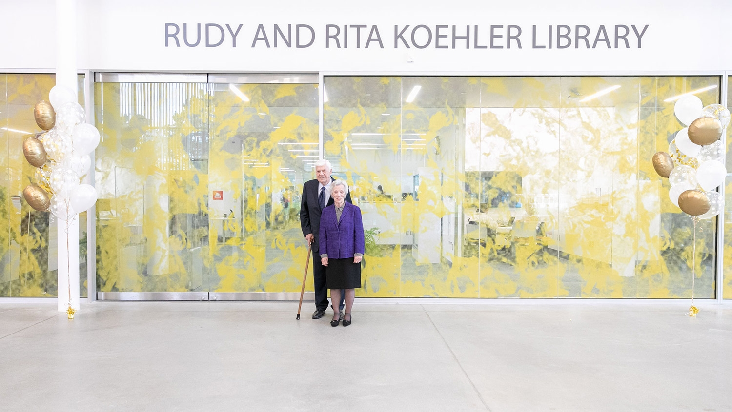 Rudy and Rita Koehler Library