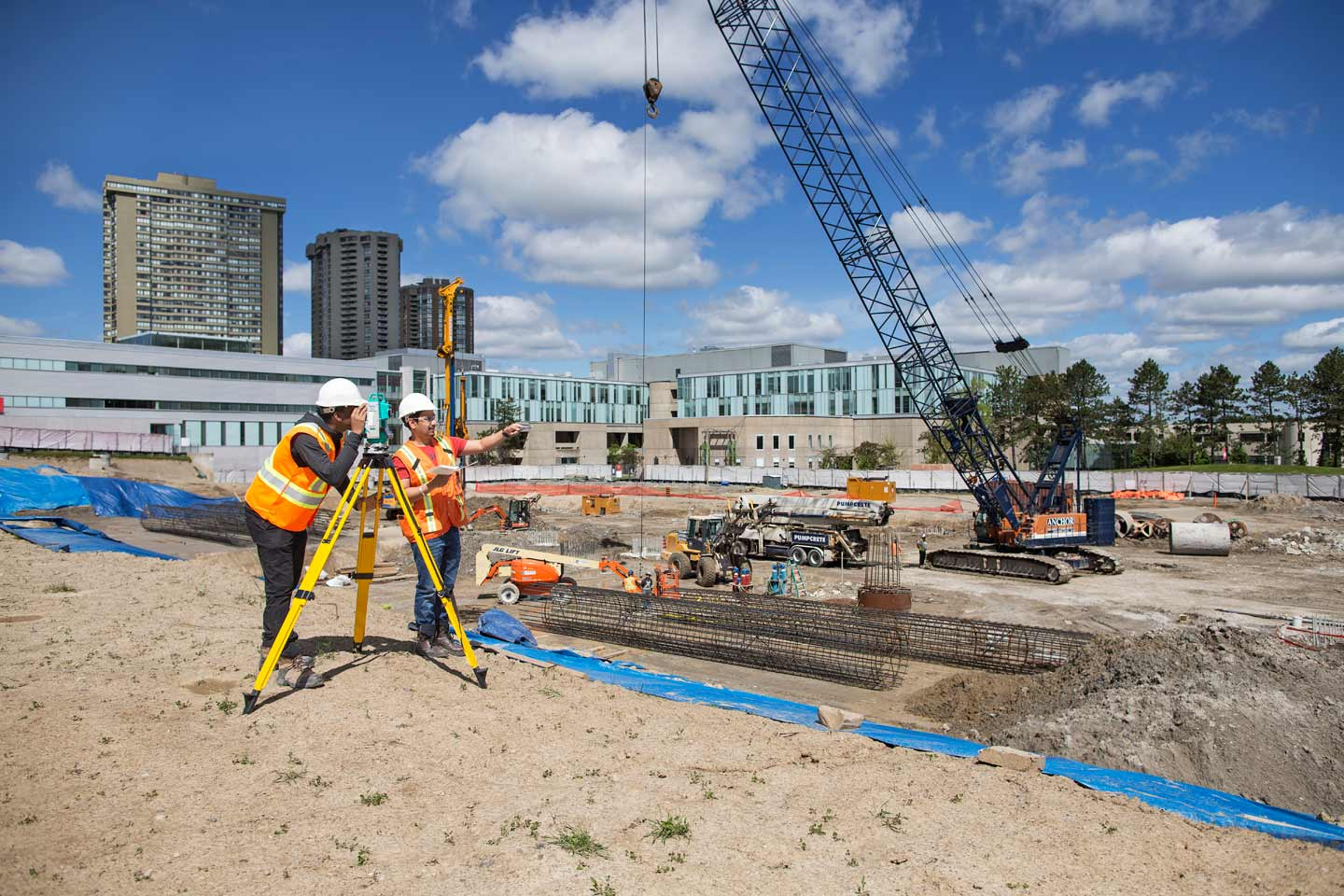 Civil Engineers At Work : Civil engineering technology seneca toronto canada