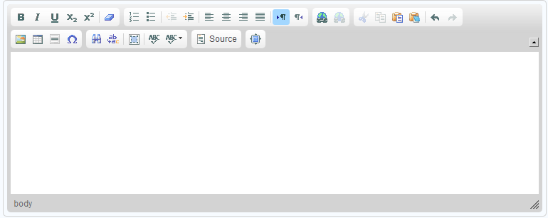 Using the Online Text Editor